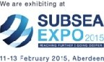 Sonavision Exhibiting  SUBSEA UK 2015
